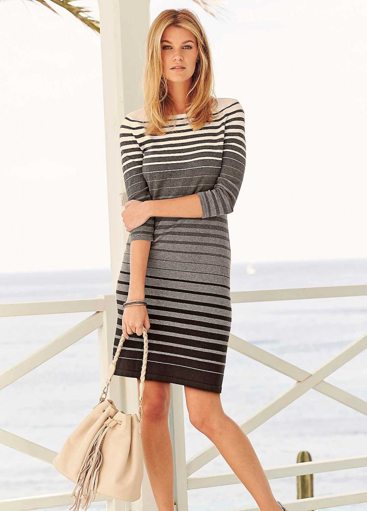 1b50137cec3 Grey-Stripe-Knit-Dress-66D648FRSP There s a popular misconception that older  women ...